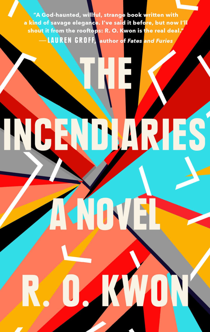 An image of the cover of the book The Incendiaries.
