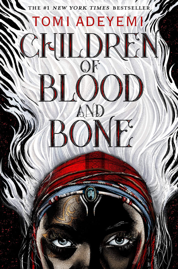 An image of the cover of the book Children of Blood and Bone.
