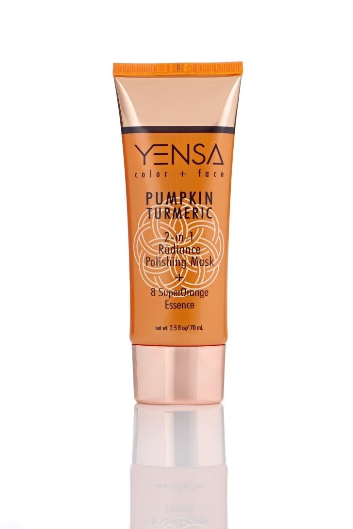 An image of the Yensa Pumpkin Tumeric Mask.