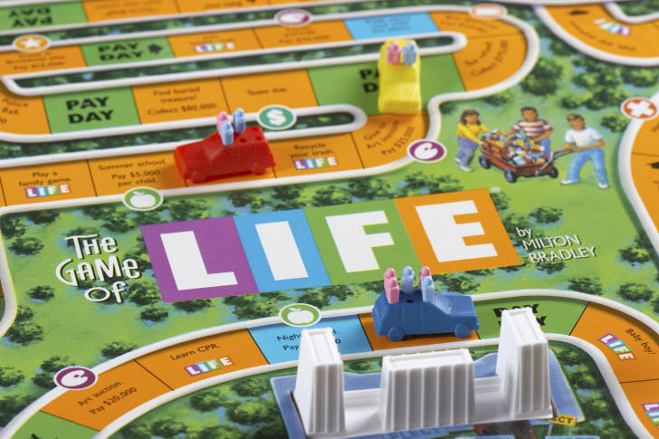 the board game Life
