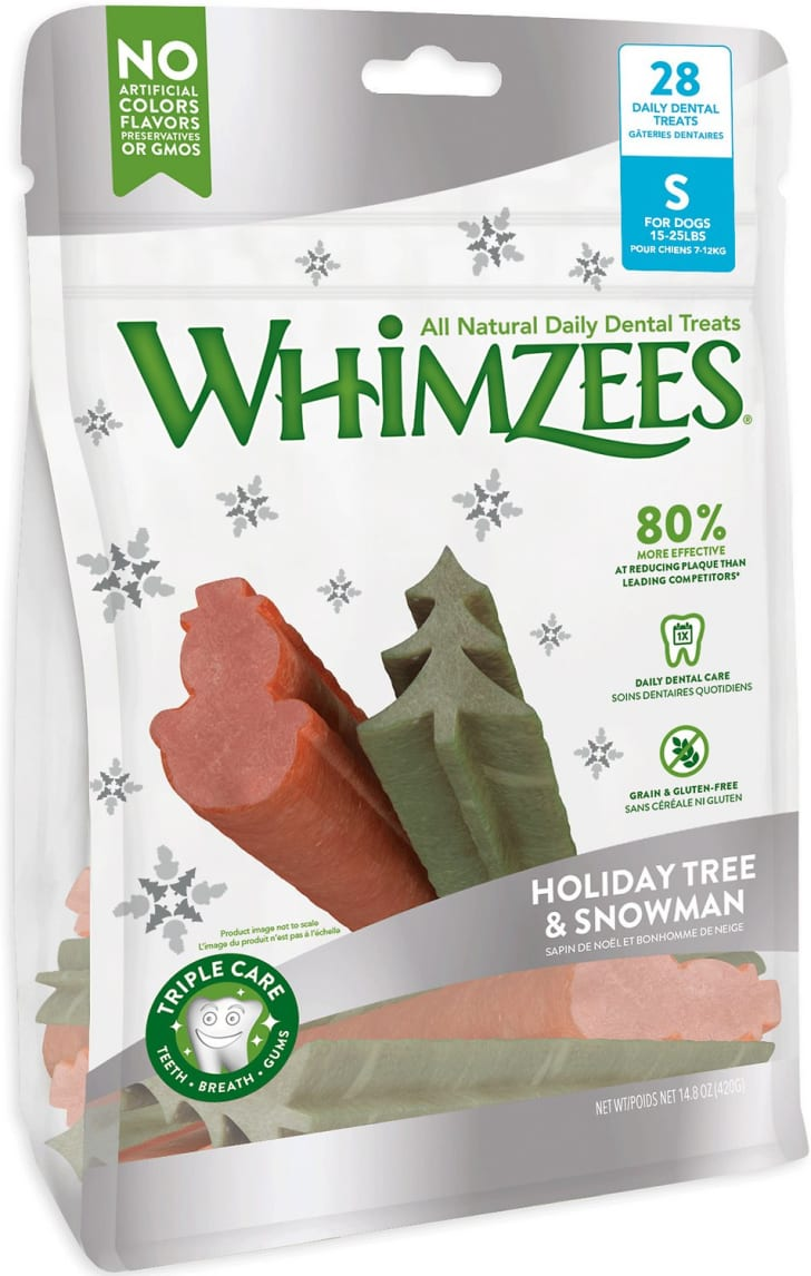 Whimzees holiday treats