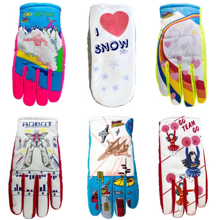 Different glove designs