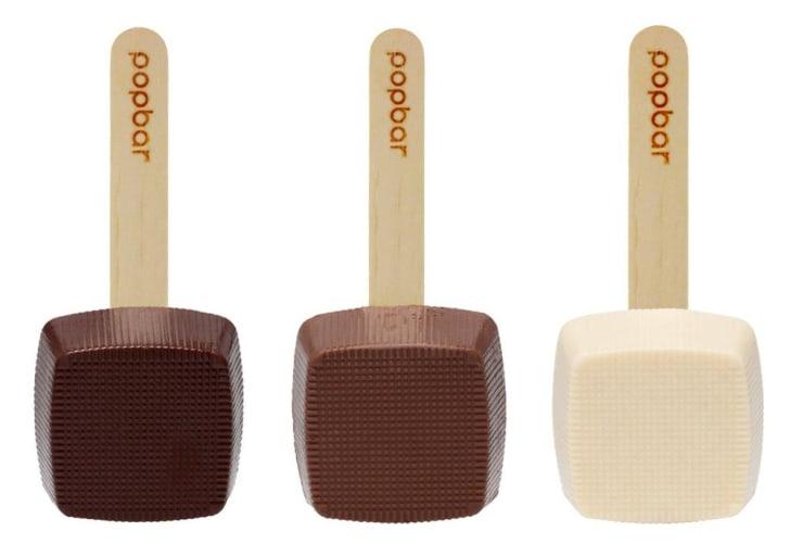 Three hot chocolate sticks