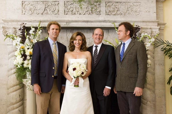 John C. Reilly, Will Ferrell, Mary Steenburgen, and Richard Jenkins in Step Brothers (2008)