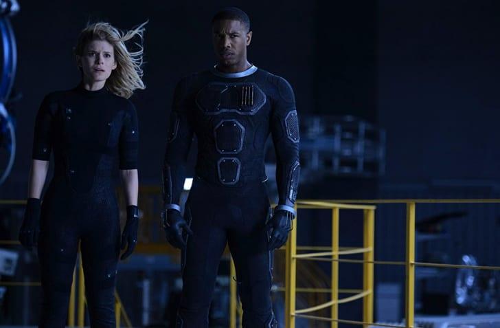 Michael B. Jordan and Kate Mara in 'Fantastic Four' (2015)