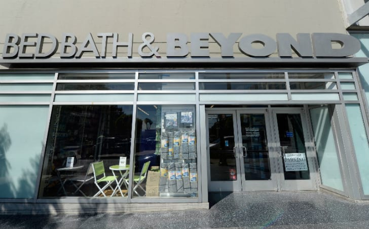 The exterior of a Bed Bath & Beyond location