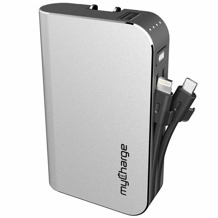 Portable phone charger.