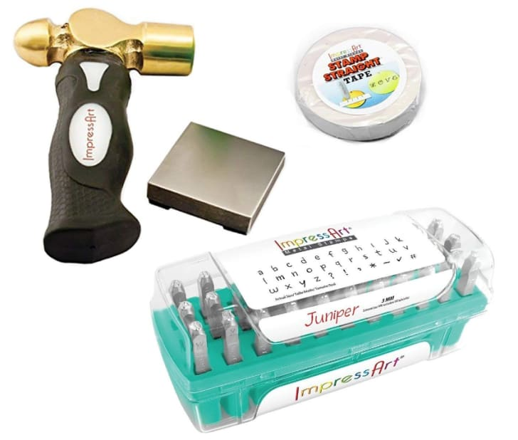 ImpressArt Metal Stamping Kit on Amazon