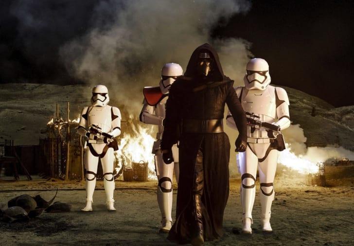 Adam Driver in Star Wars: Episode VII - The Force Awakens (2015)