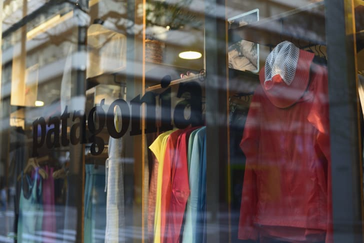 Patagonia store window