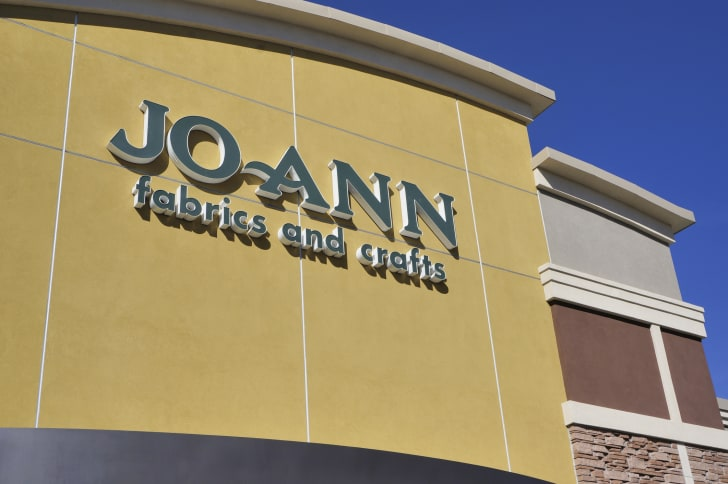 Jo-Ann Fabrics storefront