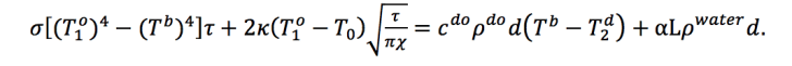 The researchers' equation
