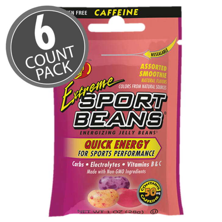 A look at the packaging for the Extreme Sport Beans from Jelly Belly