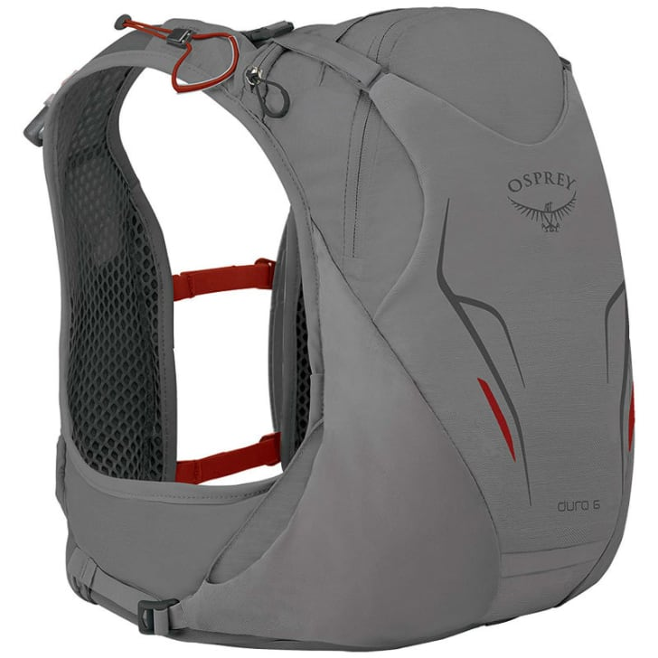The Osprey Duro 6 vest provides hydration for runners