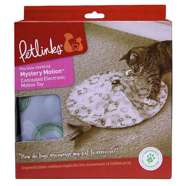 A look at the PetLinks Mystery Motion cat toy