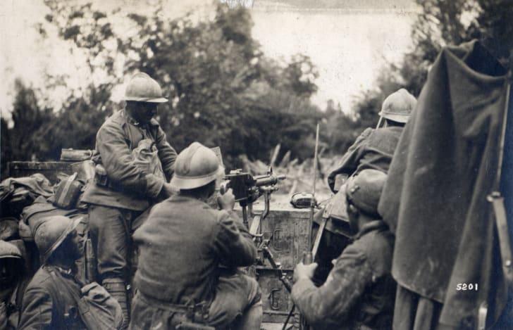 Battle of the Vittorio Veneto in Italy, World War I