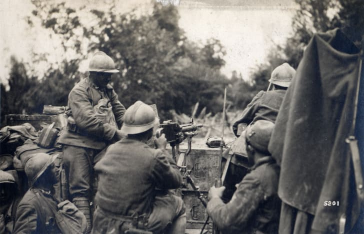 Battle of the Vittorio Veneto in Italy, World War I