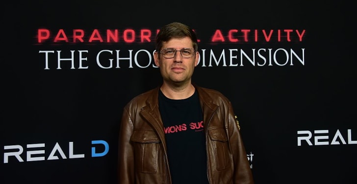 Oren Peli, producer, arrives for the Screamfest Closing Night screening of 'Paranormal Activity - Ghost Dimension' in Hollywood, California on October 22, 2015