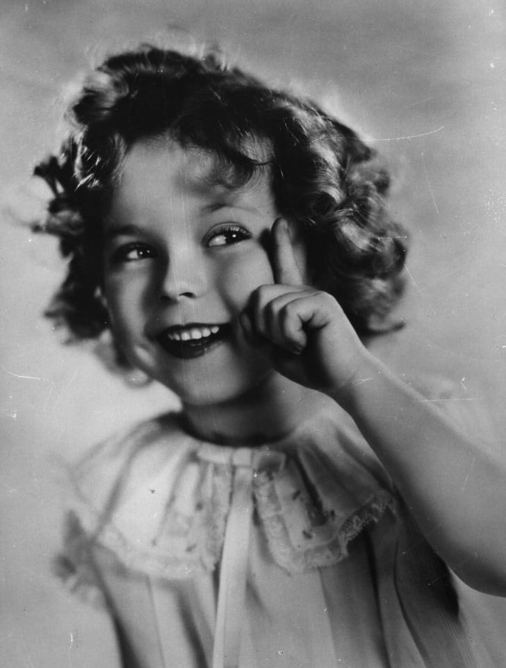 Shirley Temple, circa 1934.