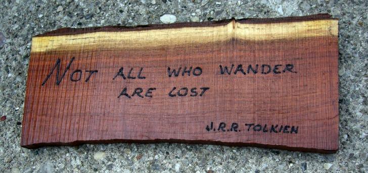 Phrase by JRR Tolkien