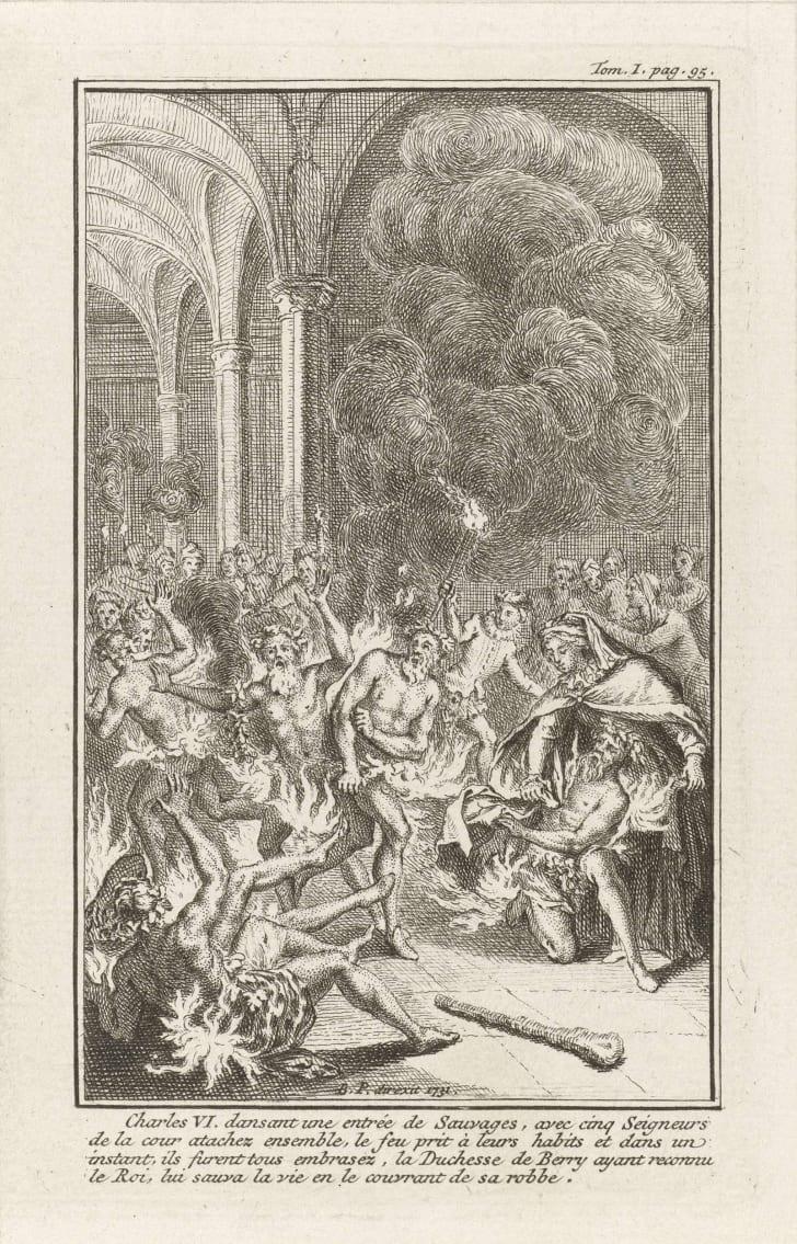 """Bernard Picart, """"Bal des Ardents"""""""