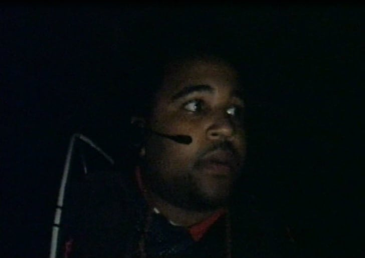 A screen shot from the MTV reality series 'Fear'