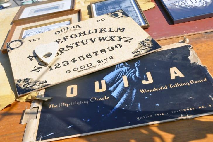 Vintage Ouija game.