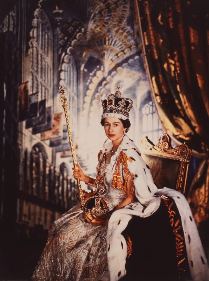 Portrait of Queen Elizabeth II