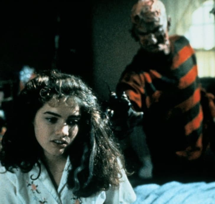 Robert Englund and Heather Langenkamp in 'A Nightmare on Elm Street' (1984)