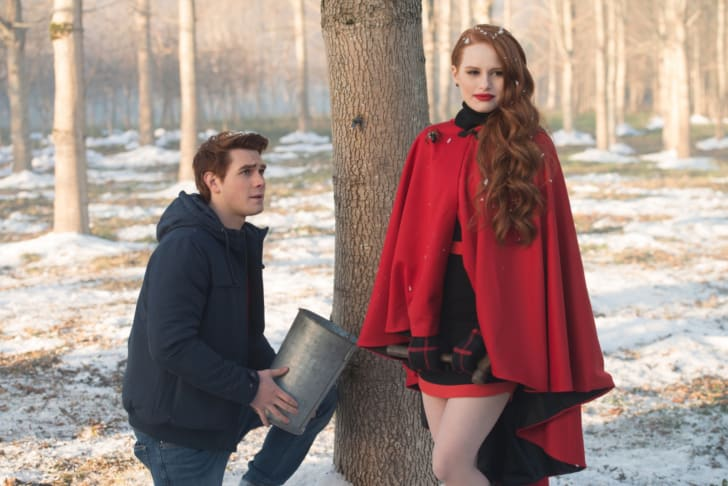 K.J. Apa and Madelaine Petsch in 'Riverdale'