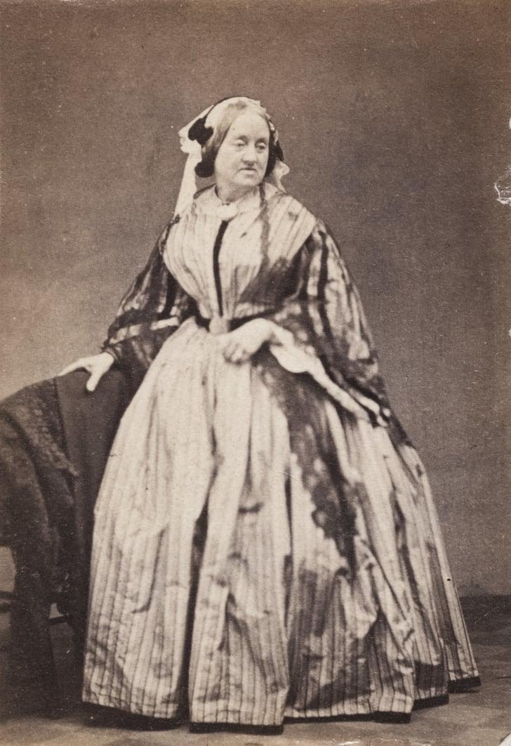 Portrait of Anna Atkins, ca. 1862