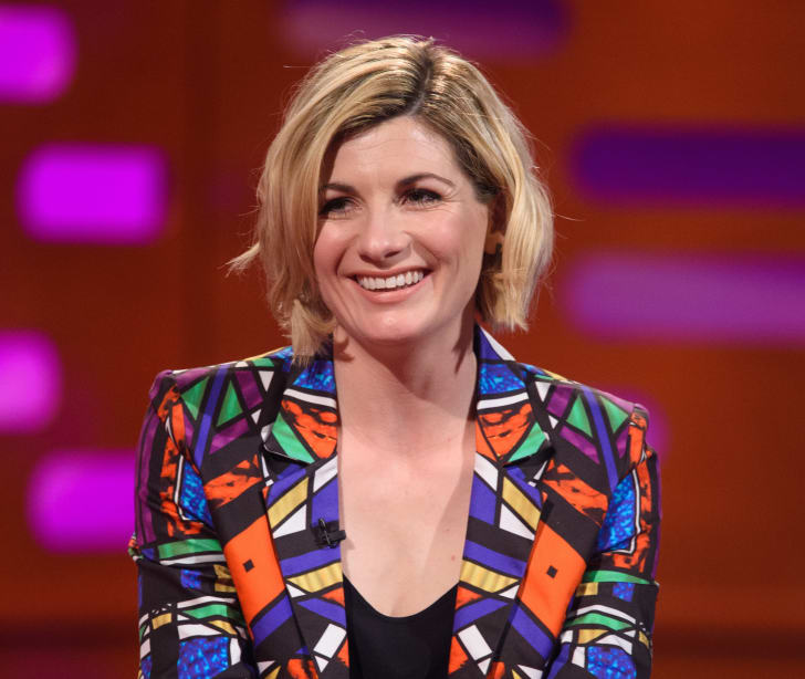 Jodie Whittaker appears on 'The Graham Norton Show'