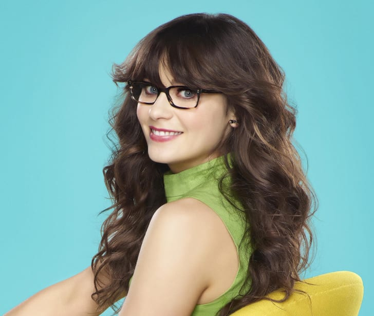Zooey Deschanel as Jess in 'New Girl'