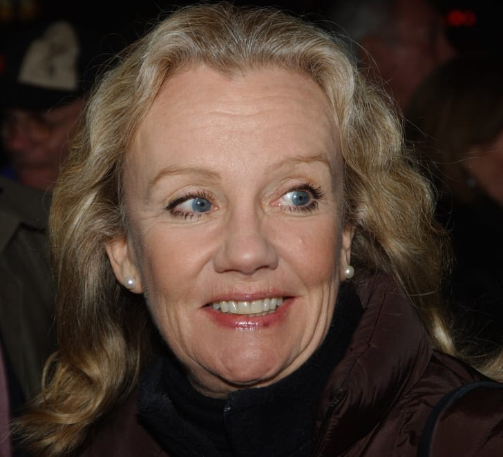 Hayley Mills arrives to the Opening of 'Pacific Overature' at Stuion 54 on December 2, 2004 in New York City