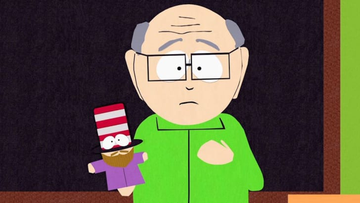 Mr. Garrison from 'South Park'