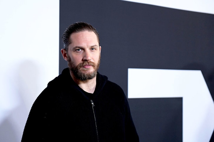Actor Tom Hardy arrives at the Winter TCA Tour FX Starwalk at Langham Hotel on January 12, 2017 in Pasadena, California