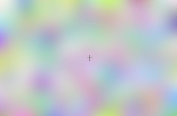 A Troxler effect illusion