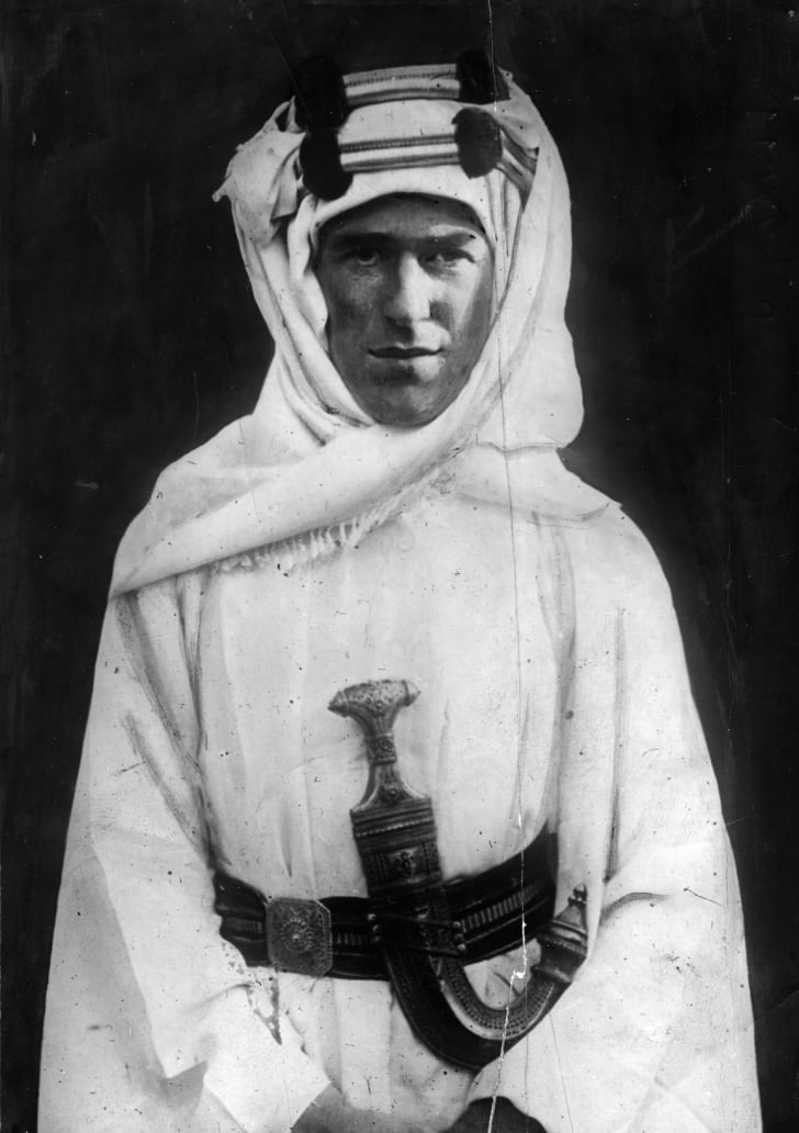 T. E. Lawrence, a.k.a. Lawrence of Arabia