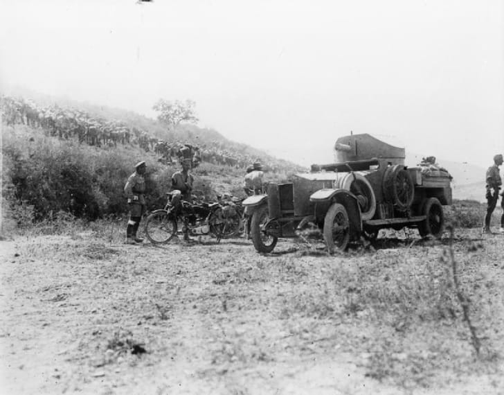 Armored car in World War I