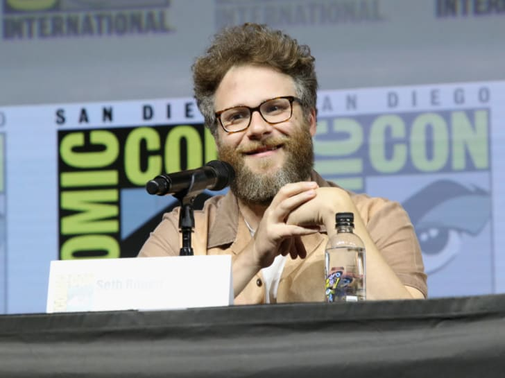 Seth Rogen attends the 'Preacher' autograph signing and panel with AMC during Comic-Con International 2018 at San Diego Convention Center on July 20, 2018