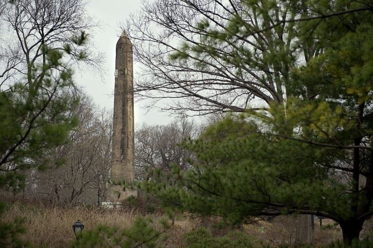 Cleopatra's Needle in New York's Central Park