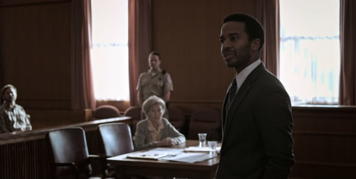 Andre Holland appears as Henry Deaver in a screen capture from 'Castle Rock'