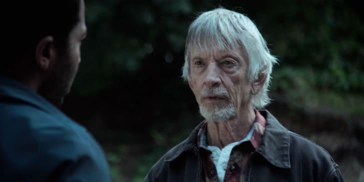 Scott Glenn appears as Alan Pangborn in a screen capture from 'Castle Rock'