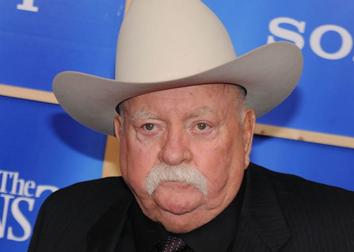 Actor Wilford Brimley is photographed during a public appearance