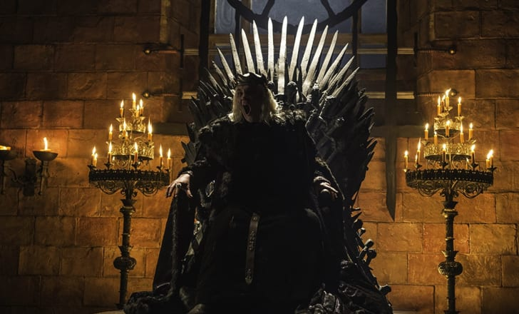 David Rintoul as the Mad King in 'Game of Thrones'