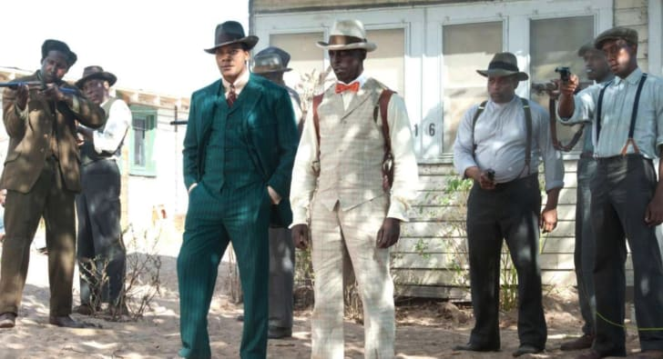 Michael K Williams in 'Boardwalk Empire'