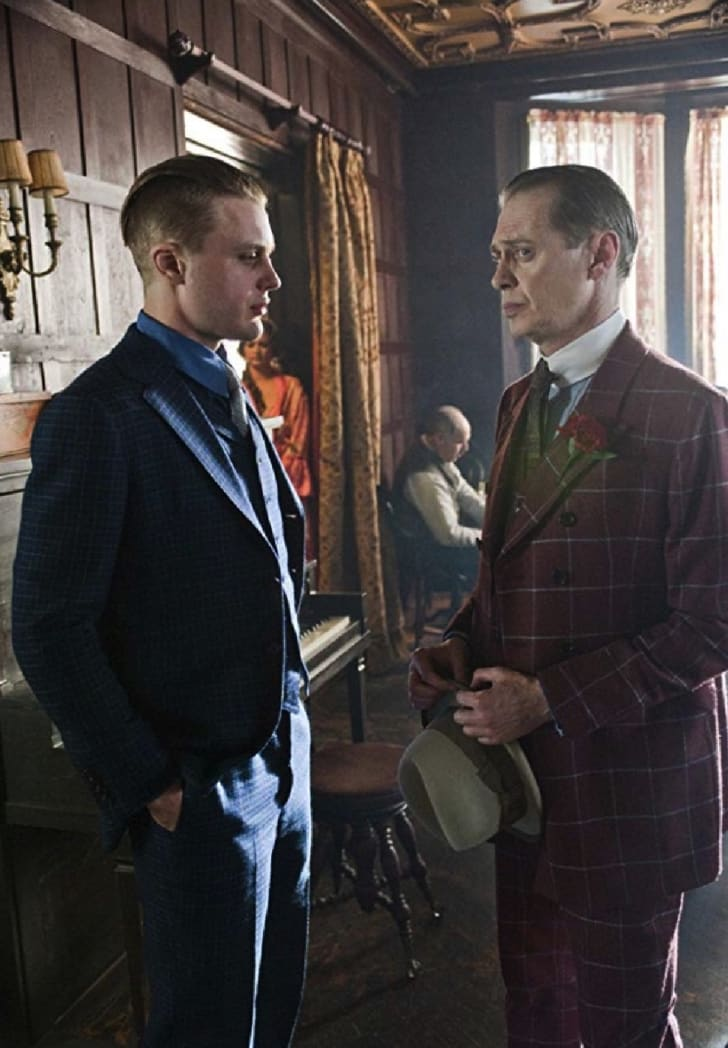 Steve Buscemi and Michael Pitt in 'Boardwalk Empire'