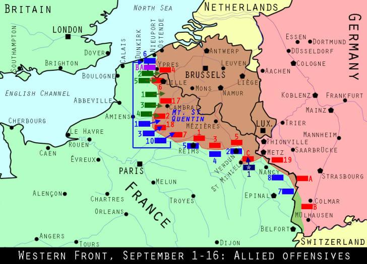 Western Front, September 1918