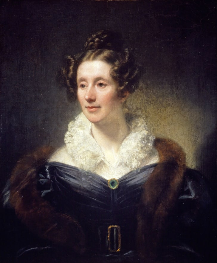A portrait of Mary Somerville