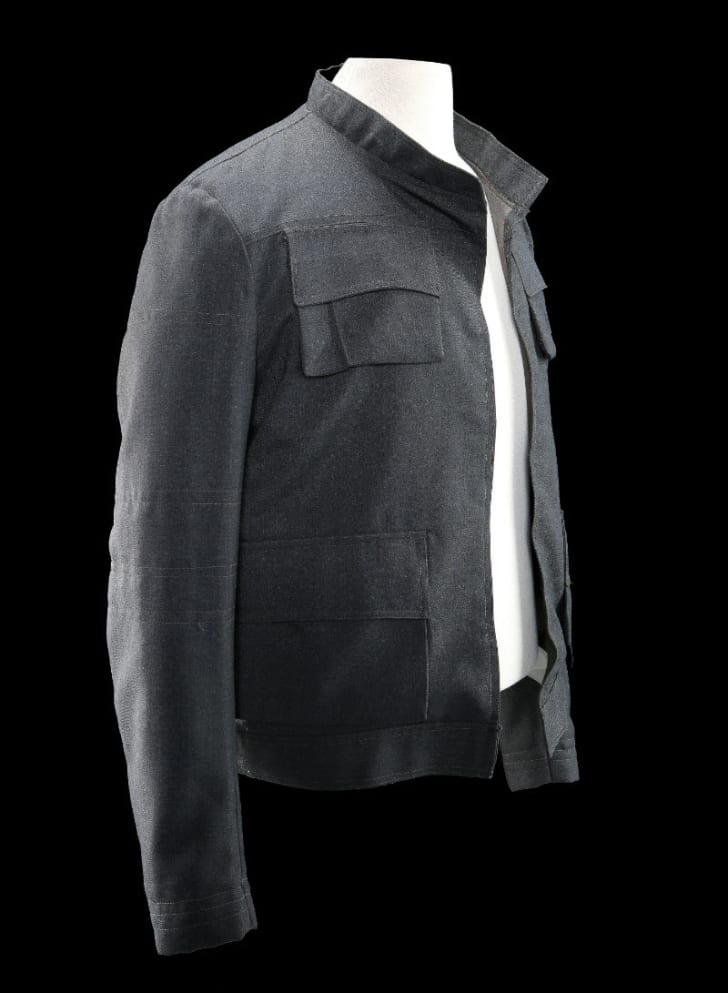 A look at Harrison Ford's screen-used jacket from 'The Empire Strikes Back'